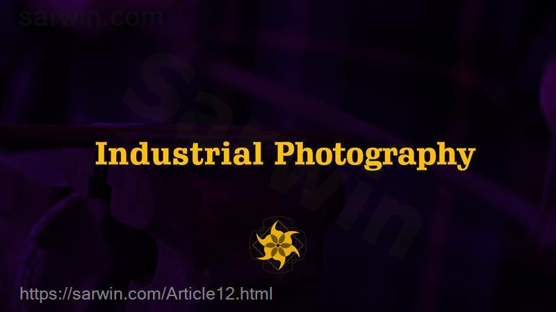 poster industrial photography