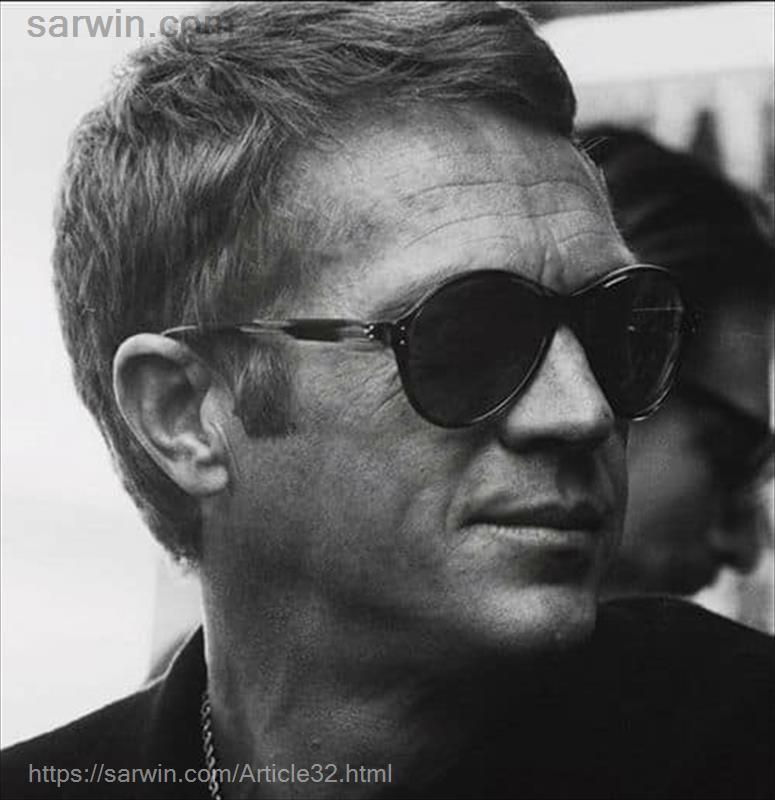 steve mc queen + persol + sarwin